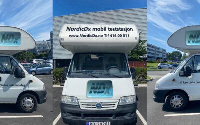NordicDx tilbyr koronatesten SAVD, en RT-PCR hurtigtest